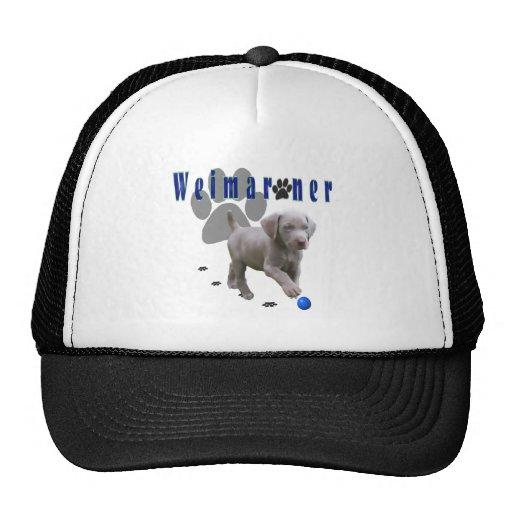 Weimaraner Pups Trucker Hats