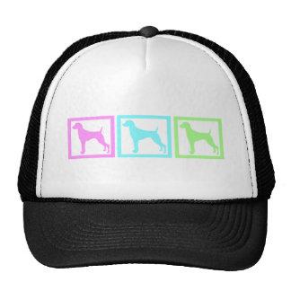Weimaraner Squares Trucker Hat
