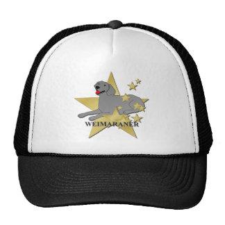 Weimaraner Stars Cap