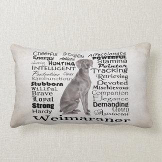 Weimaraner Traits Pillow