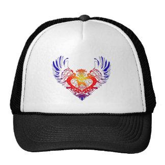 Weimaraner Winged Heart Cap
