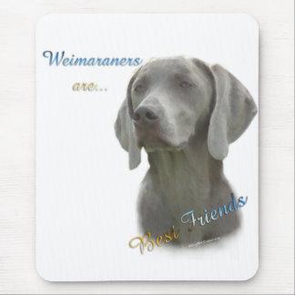 Weimeraner Best Friend 2 Mouse Mat