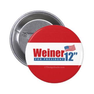 Weiner 2012 Inches - Button