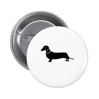 Weiner Dog Pinback Buttons