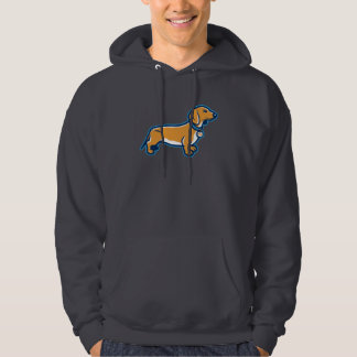 Weiner Dog Hoodie
