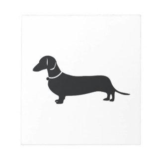 Weiner Dog Notepad