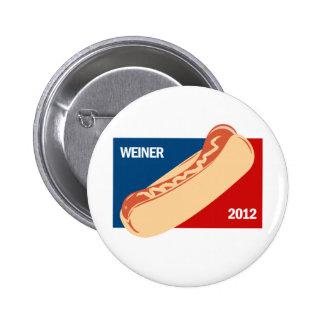 WEINER IN 2012 BUTTON
