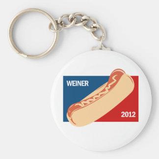 WEINER IN 2012 KEYCHAINS