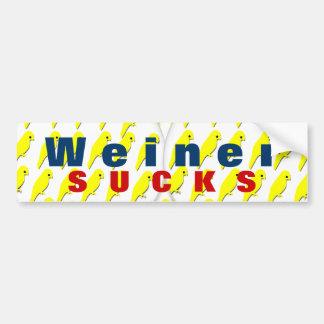 Weiner Sucks Bumper Sticker