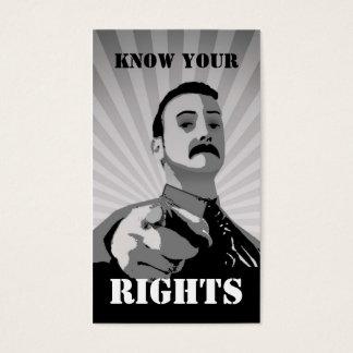Weingarten Rights Card