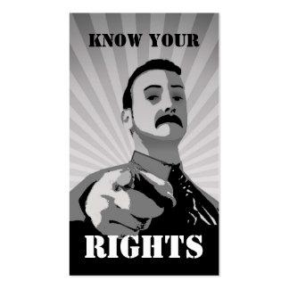 Weingarten Rights Card Business Card Templates