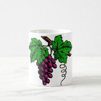 weintrauben vine grapes vine basic white mug