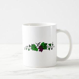 weintrauben vine grapes vine mug