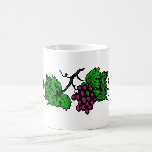 weintrauben vine grapes vine mugs