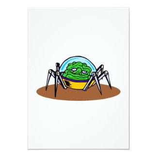 Weird Alien Brain Bot.png 13 Cm X 18 Cm Invitation Card