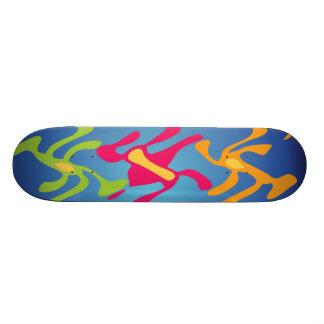 Weird and wonderful skateboard deck