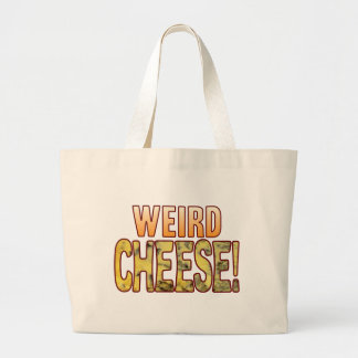 Weird Blue Cheese Large Tote Bag