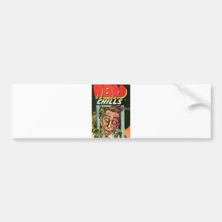 Weird Chills Comic book Bumper Sticker