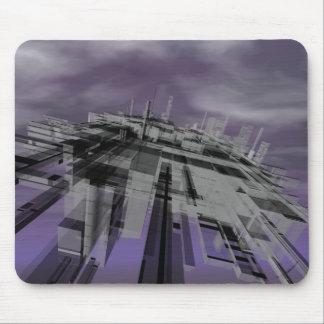 """Weird City"" (No Sun) Mouse Pad"