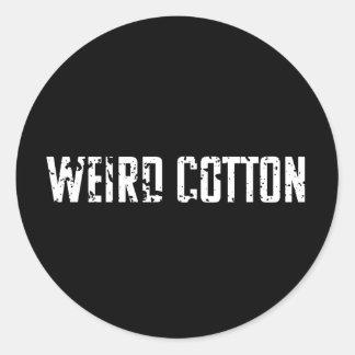 Weird Cotton Sticker Logo