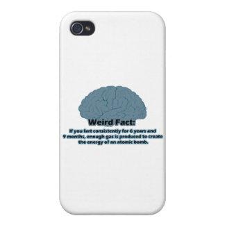 Weird Fact - Atomic Fart iPhone 4/4S Cases