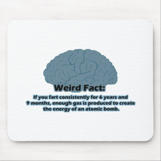 Weird Fact - Atomic Fart Mouse Mat