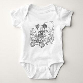Weird Fantasy Car & Driver Baby Bodysuit
