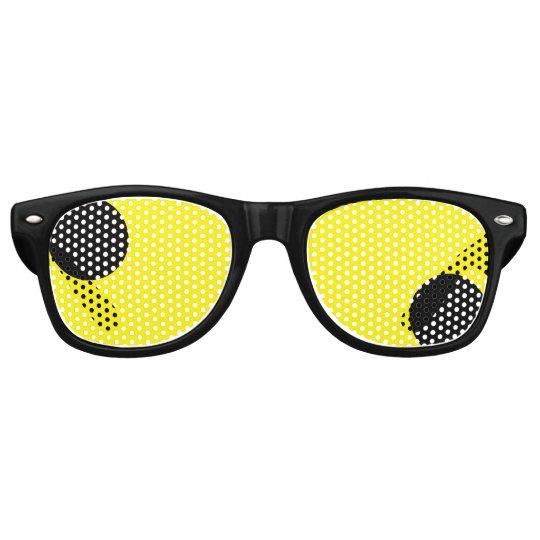 Weird geeky eyeball party shades funny sunglasses