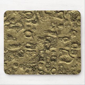 weird gold mouse mats