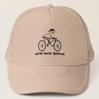 Weird Human Behavior Bicycler Trucker Hat