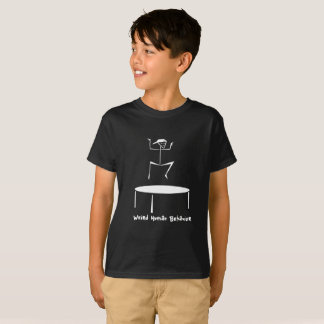 Weird Human Behaviour Trampoline Kids T-Shirt