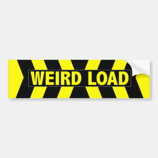 Weird Load Bumper Sticker