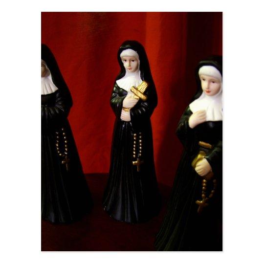 Weird Nuns Postcard