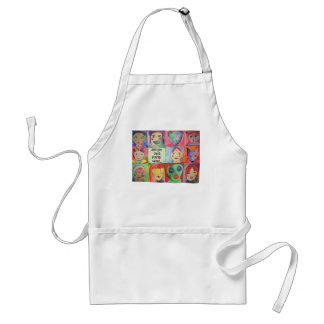 Weird People Graphic Aprons