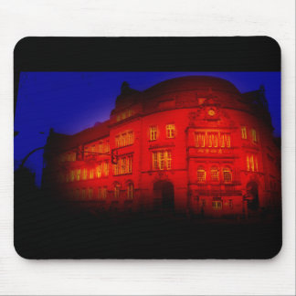 weird places store logo gothic building mouse pad