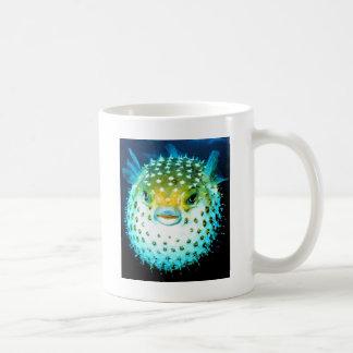 Weird Psycho Fish Graphic Photo Image Coffee Mug