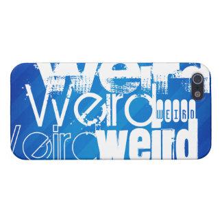 Weird; Royal Blue Stripes iPhone 5 Cover