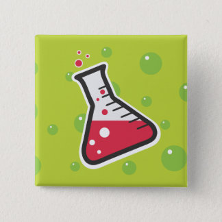 Weird Science 15 Cm Square Badge