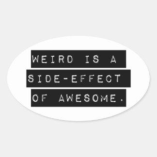 Weird Side-Effect Sticker