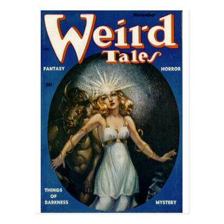 weird tales art post cards