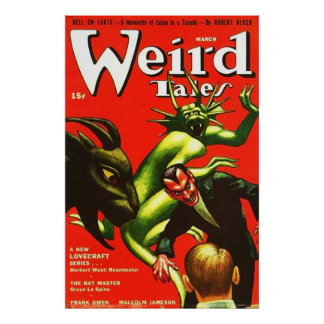 Weird Tales March 1942 Poster