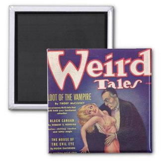 Weird Tales Vampire Comic Book Refrigerator Magnets