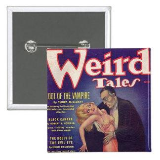 Weird Tales Vampire Comic Book Pins