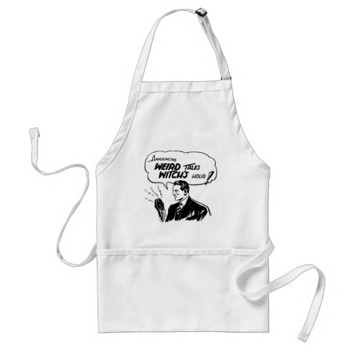 Weird Tales Witches Hour Apron