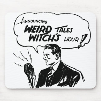 Weird Tales Witches Hour Mouse Pad