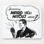 Weird Tales Witches Hour Mouse Pads