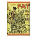 WEIRD Vintage WEIGHT LOSS Ad  SANITIZED TAPE WORMS Posters