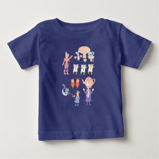 Weird Wacky Wonderful Wonderland Baby T-Shirt
