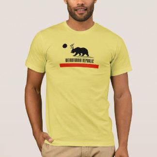 Weirdfornia California bear flag freak t-shirt