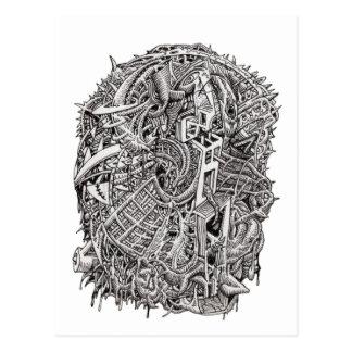 Weirdhead by Brian Benson Postcard